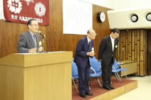 今回で勇退する大谷事務局長と、後任の井上さん(S50)です。